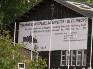 Willkommen in Ballenstedt.